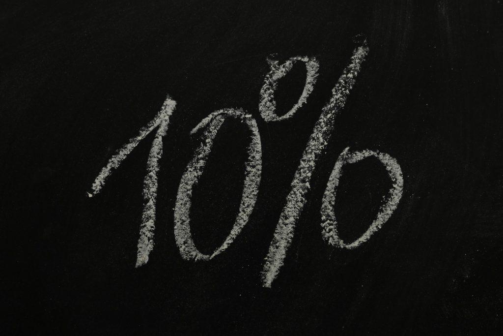 10% zniżki